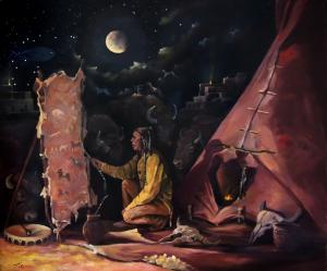 My Recent Oil Painting called Prayer For The Protectors
