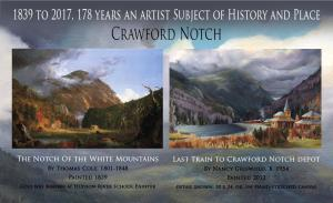 Crawford Notch 1839 to 2017 Makes 178 Years an Artist Subject of History and Place