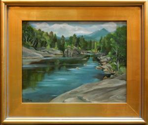 Experiences and thoughts of painting in the White Mountains of New Hampshire