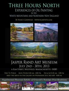 Jasper Rand Art Museum - July 2nd - 30th, 2013